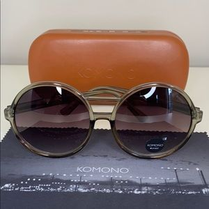 Komono Coco Black Smoke New Sunglasses